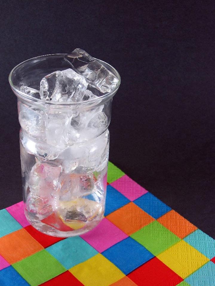 Как сделать лёд для коктейля
