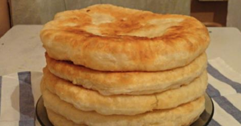 рецепт лепешки вместо хлеба