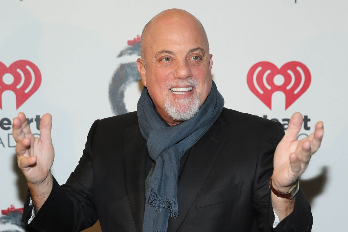 "NEW YORK, NY - OCTOBER 26:  Billy Joel attends the opening night of ""The Last Ship"" on Broadway at The Neil Simon Theatre on October 26, 2014 in New York City.  (Photo by Neilson Barnard/Getty Images)"
