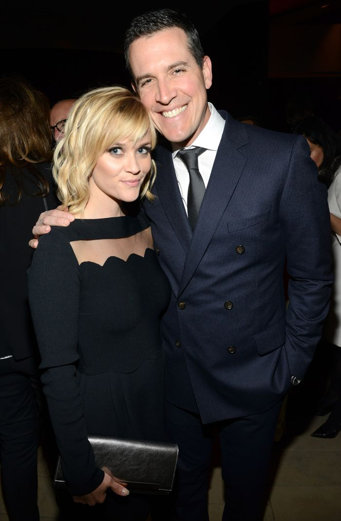 NEW YORK, NY - FEBRUARY 10:  Reese Witherspoon and Jim Toth attend The Great American Songbook event honoring Bryan Lourd at Alice Tully Hall on February 10, 2014 in New York City.  (Photo by Kevin Mazur/Getty Images for Lincoln Center)