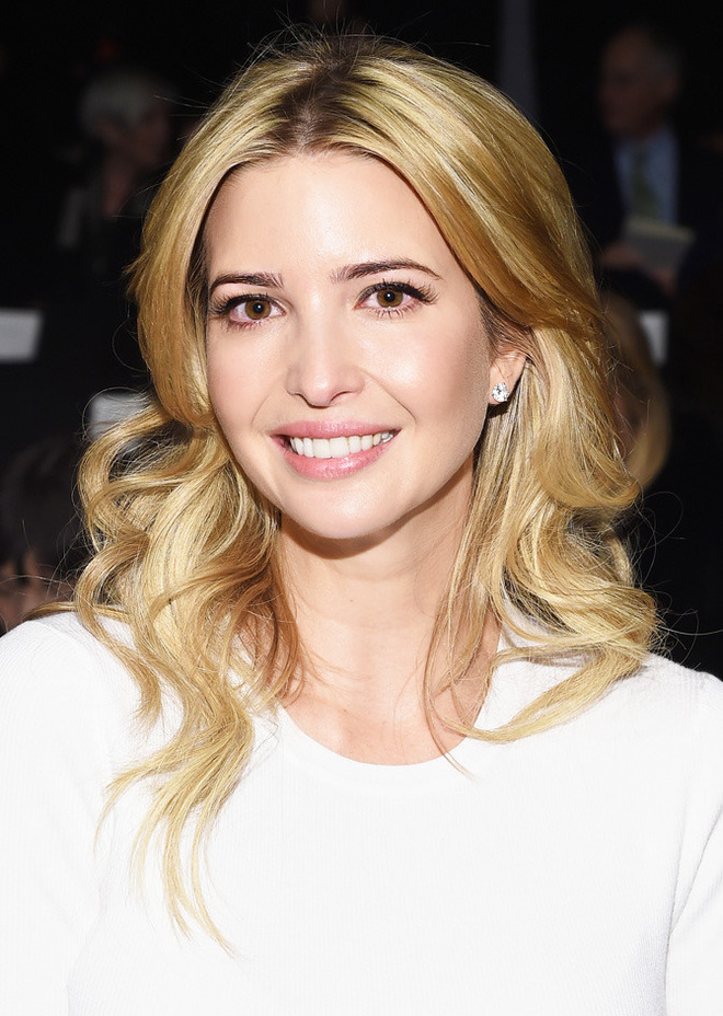 NEW YORK, NY - FEBRUARY 16:  Ivanka Trump attends the Carolina Herrera fashion show during Mercedes-Benz Fashion Week Fall 2015 at The Theatre at Lincoln Center on February 16, 2015 in New York City.  (Photo by Larry Busacca/Getty Images for Mercedes-Benz Fashion Week)