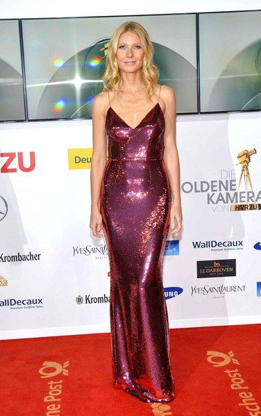 Mandatory Credit: Photo by Picture Perfect/REX/Shutterstock (3542023a) Gwyneth Paltrow Golden Camera Awards in Berlin, Germany - 01 Feb 2014