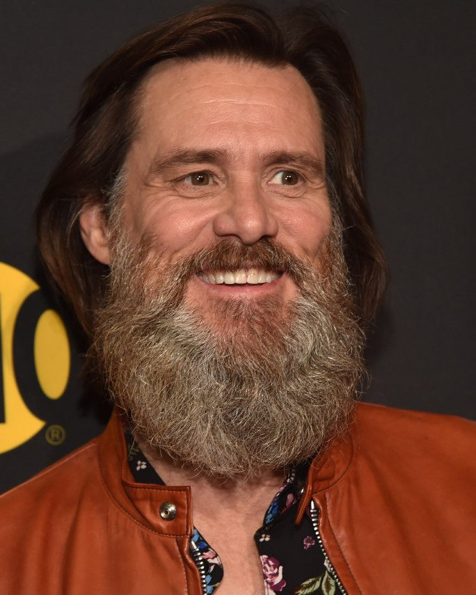 "LOS ANGELES, CA - MAY 31:  Executive producer Jim Carrey attends the premiere of Showtime's ""I'm Dying Up Here"" at the DGA Theater on May 31, 2017 in Los Angeles, California.  (Photo by Alberto E. Rodriguez/Getty Images)"