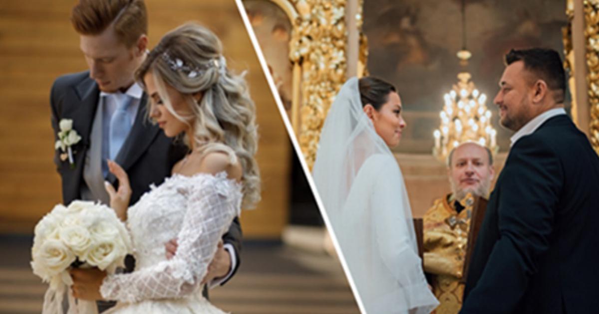 Самые красивые звёздные свадьбы