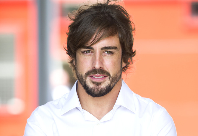 OVIEDO, SPAIN - JUNE 26:  Fernando Alonso inaugurated the Fernando Alonso Museum on June 26, 2015 in Oviedo, Spain.  (Photo by Juan Manuel Serrano Arce/Getty Images)
