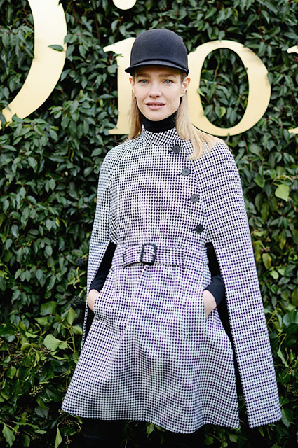 PARIS, FRANCE - JANUARY 23:  Natalia Vodianova attends the Christian Dior Haute Couture Spring Summer 2017 show as part of Paris Fashion Week at Musee Rodin on January 23, 2017 in Paris, France.  (Photo by Vanni Bassetti/Getty Images)